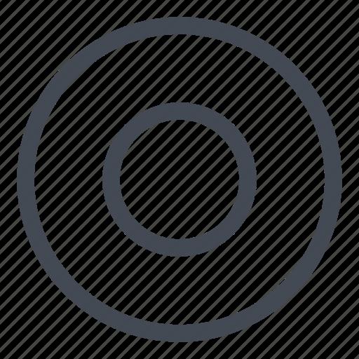 btn, circle, record icon