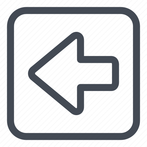 arrow, btn, left, rounded icon