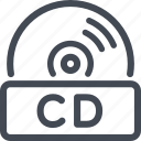 cd, disc, quality icon