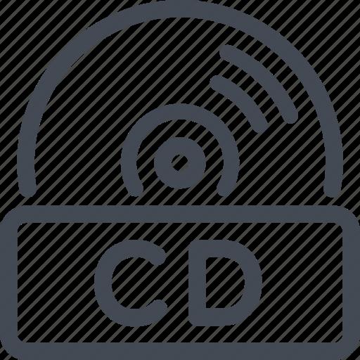 cd, disc, quality icon