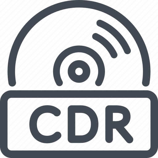 cdr, disc, quality icon