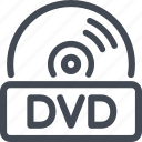 disc, dvd, quality icon
