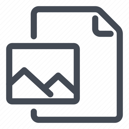 create, document, new, picture icon