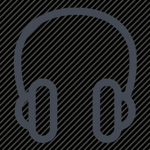 earphones, music, song, sound, voice icon