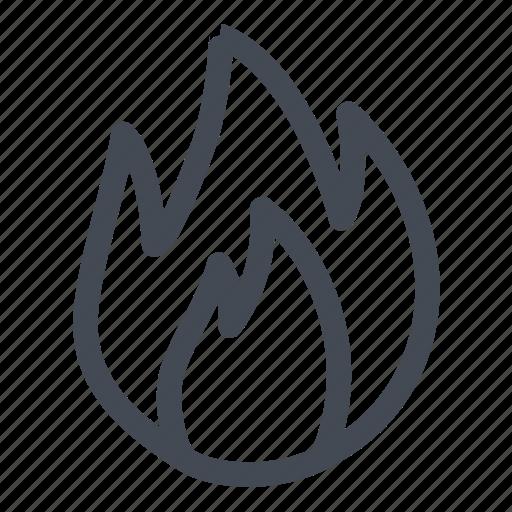 burn, engrave, hot, media icon