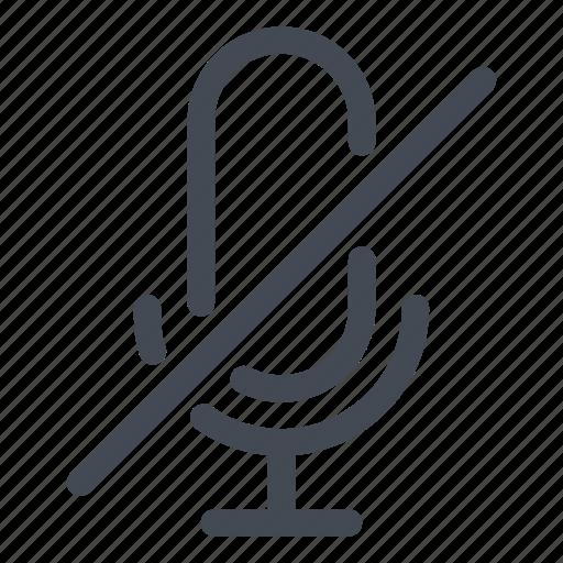 micro, mute, off, radio, record, retro, voice icon