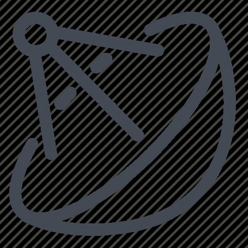 antenna, communication, connection, parabolic, satellite icon