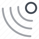 detector, secure, security, zone icon