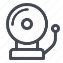 alarm, fire, secure, security icon