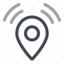 protection, security, track, tracking icon