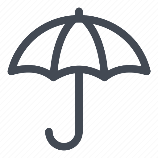 protection, secure, security, umbrella icon