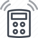 alarm, bell, central, protection, security, unit icon