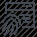 access, application, fingerprint, secure, security