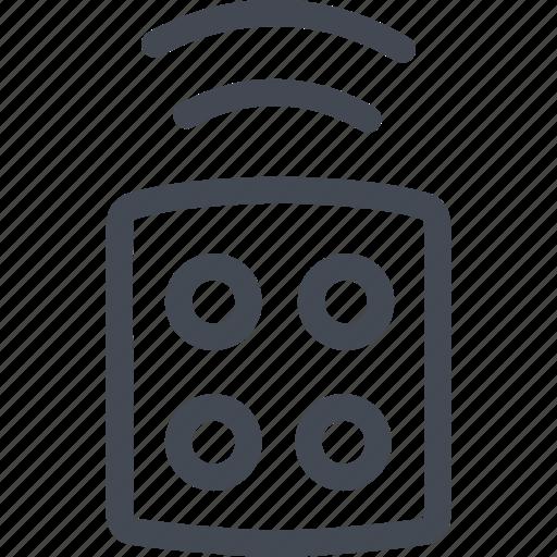 alarm, control, remote, security icon