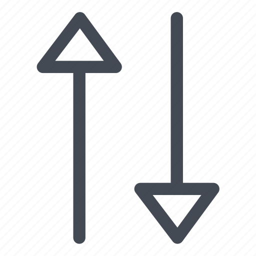 arrows, directions, transportation icon