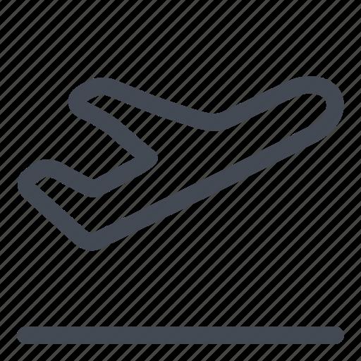 departure, flight, plane, transportation icon