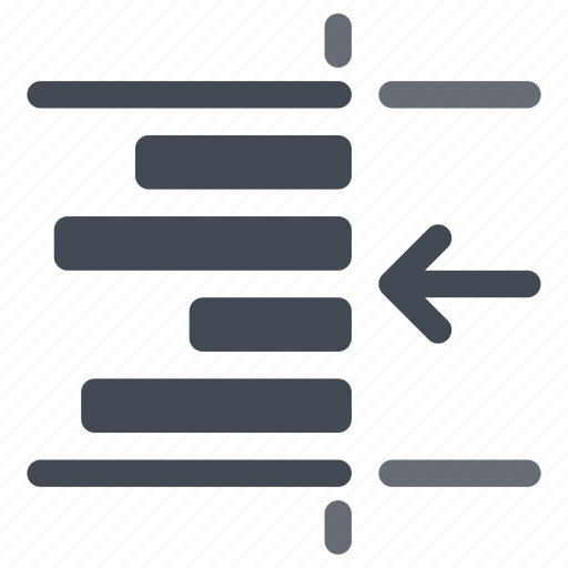 indent, paragraph, right, text icon