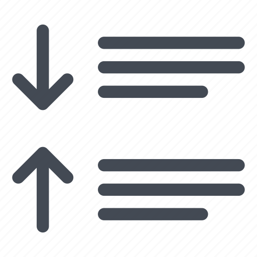 after, paragraph, spacing, text icon