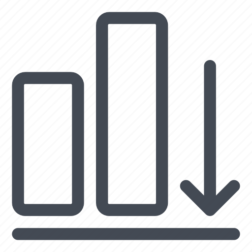 align, bottom, figures, shapes icon