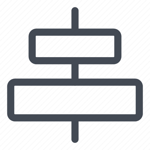 align, center, figures, shapes, vertical icon
