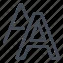 choose, mode, styles icon