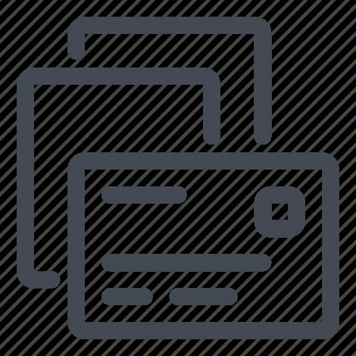 concatenate, mailing, merge, unite icon