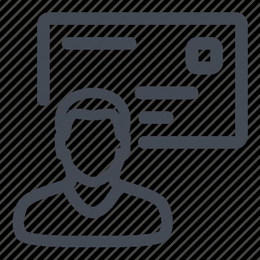 mailing, recipient icon