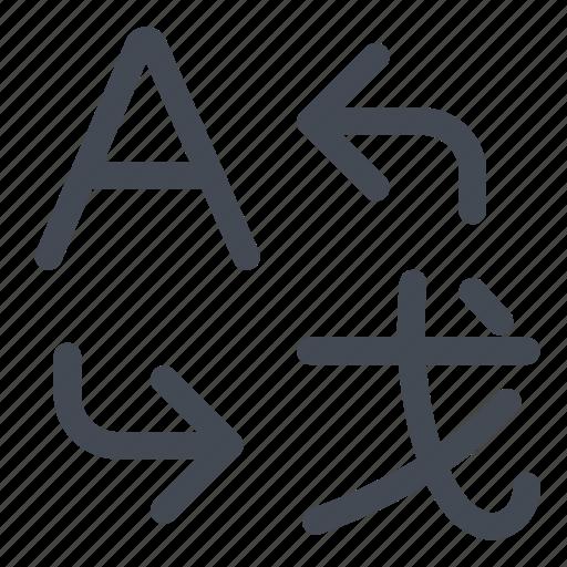another, language, to, translate, translation icon