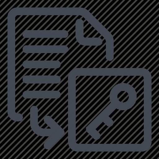 database, export icon
