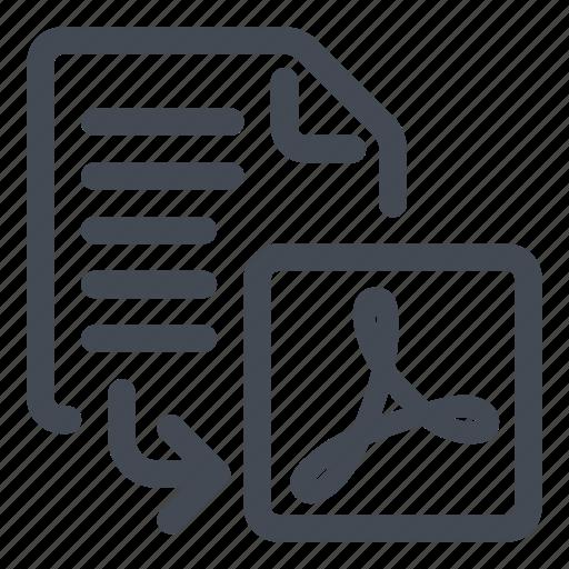 export, pdf icon