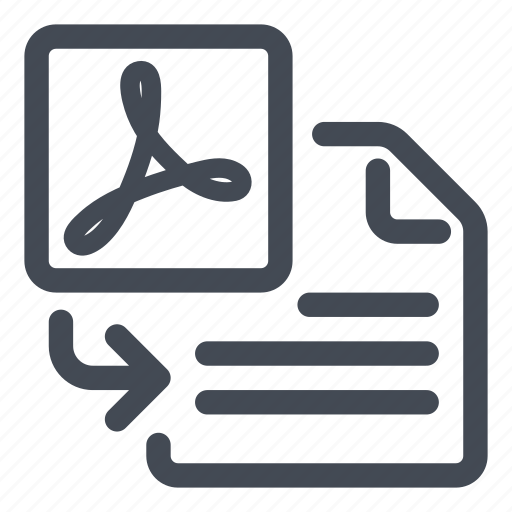 import, insert, pdf icon