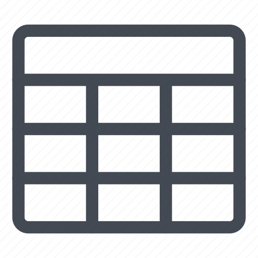 cells, create, empty, new, processing, table, word icon