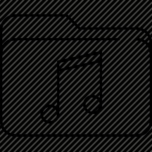 file, folder, interface, music, note icon