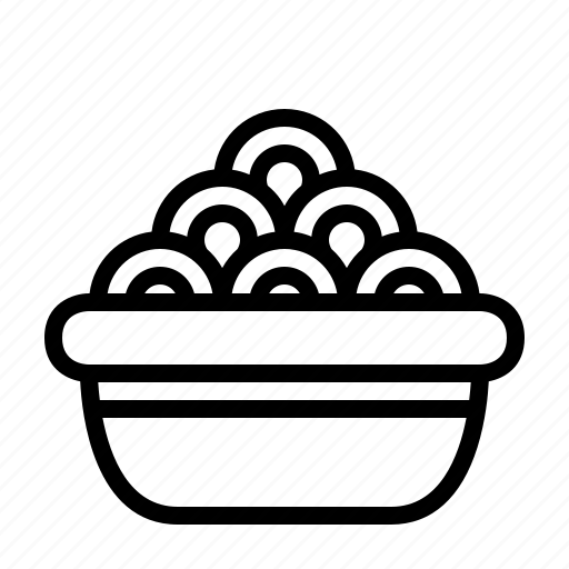 Bowl, food, meal, noodles, spaghetti icon - Download on Iconfinder