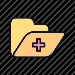archive, database, folder, folders, office, paper, storage icon