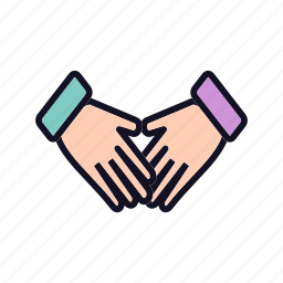 communication, contract, hand, hands, handshake, meeting, shake icon