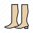 boot, fashion, footwear, heels, high, highboot, shoes icon