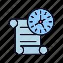 arrow, back, calendar, date, event, history, watch icon