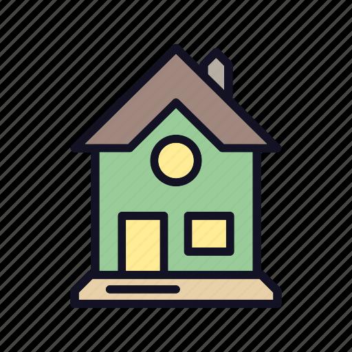 apartment, furniture, home, hut, interior, property, villa icon