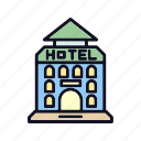 education, hotels, hotels-stars, launch, science, space, stars icon