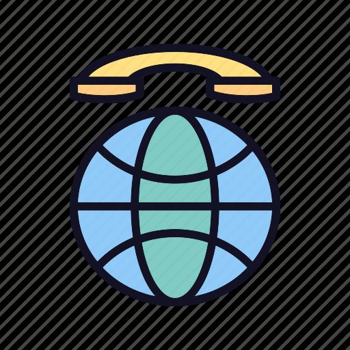 call, center, customer, global, international, international-call, talk icon