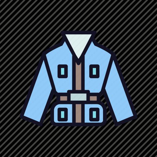 acket, badminton, clothes, fitness, game, man-jacket, sport icon