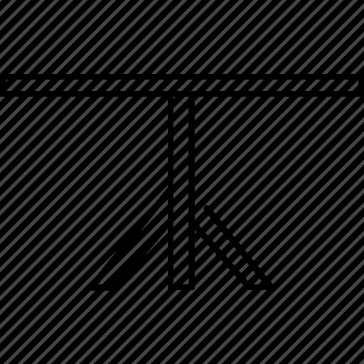 diningroom, leg, single, table, wooden icon