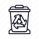bin, delete, full, full-recycle-bin, recycle, remove, trash icon