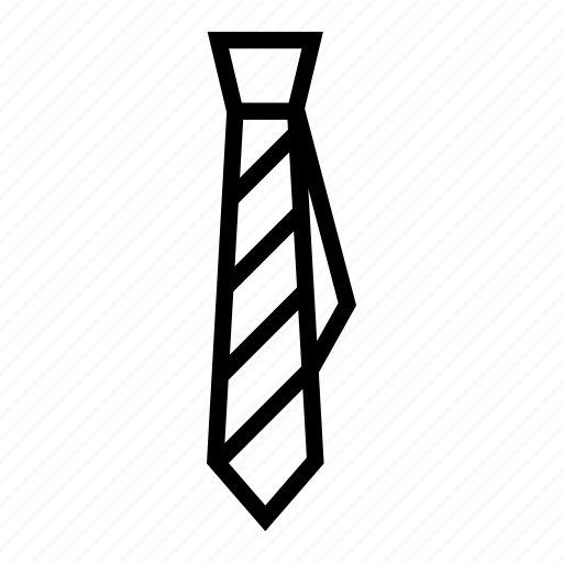 business, mens tie, necktie, office, office tie, school uniform tie icon