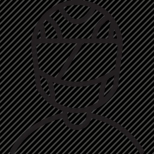 avatar, icon, line, man, person, profile, racer icon