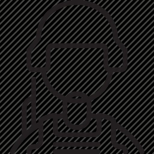 avatar, icon, line, male, person, profile, soldier icon