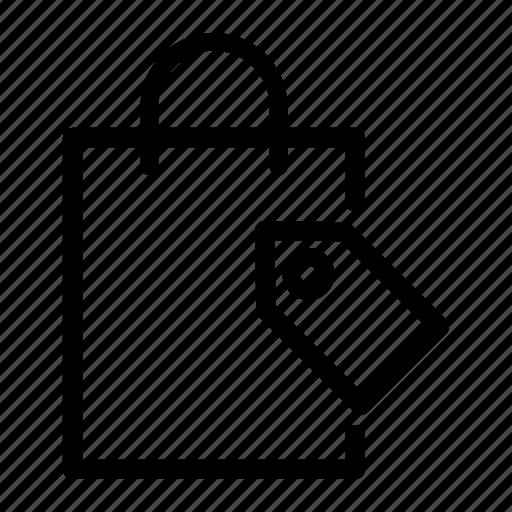bag, basket, order, price, sale, shopping, store icon