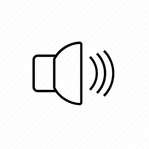 audio, media, social, sound, volume icon