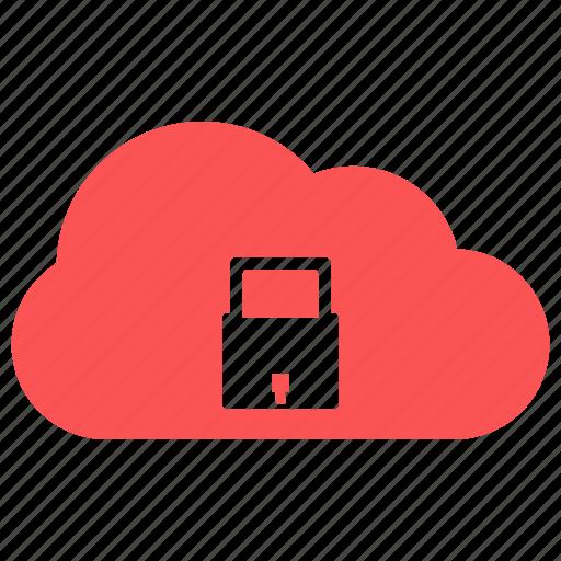 cloud, password, safe, secure icon